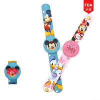 children digital cartoon wrist watch Mickey kids rubber ;LED watch Minnie