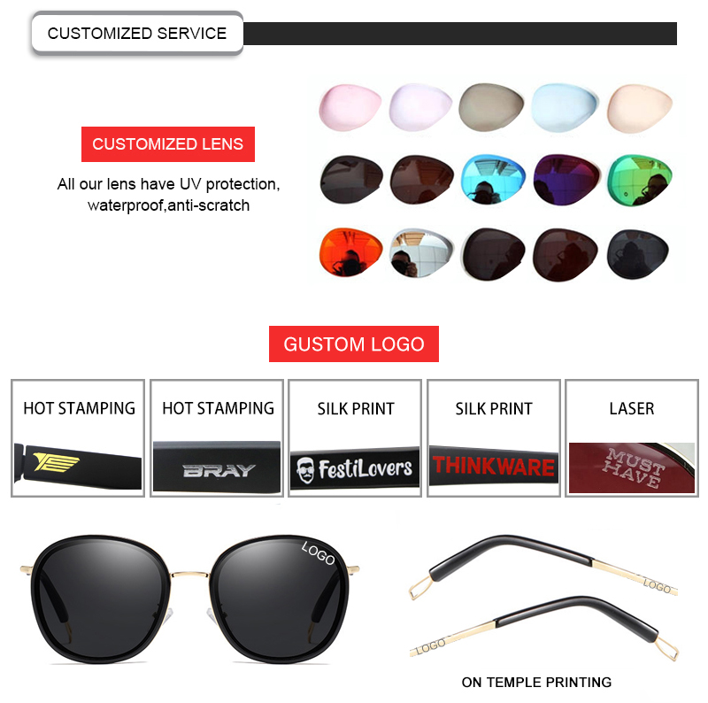 Fuqian polarized glasses meaning customized for lady-21