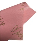 Recycled paper pink wrapping tissue paper