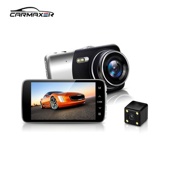 4.0 inches 1080p dual camera car dvr 2 in 1