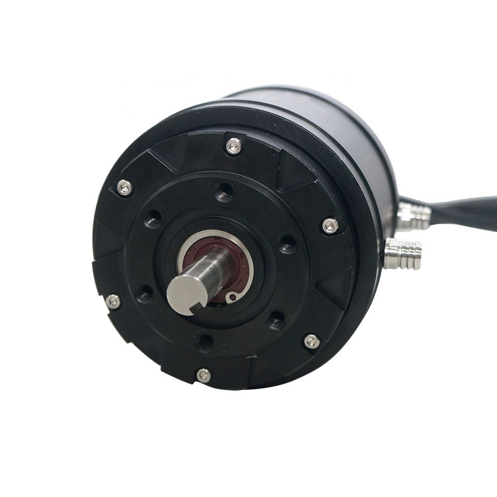 15Nm 10kw 240KV Watercooling 15 hp dc electric boat motor 48v