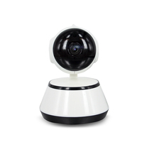 IP Camera WiFi Wireless Security Camera Indoor Dome Pet Baby Monitor Pan/Tilt/Zoom 720p HD Night Vision