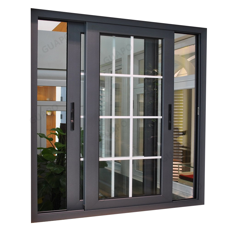 aluminum sliding window grill design simple modern iron window grill design