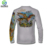 Professional sublimation quick dry custom fishing shirt polyester
