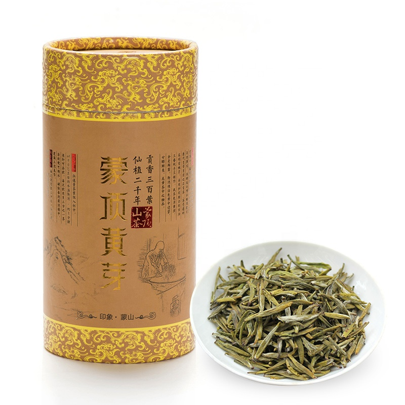 Chinese Famous Yellow Tea Mengding Huangya Yellow Buds Tea