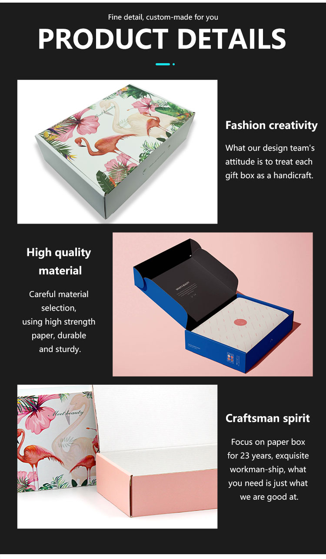 product-Flamingo Corrugated Custom Shipping Mailer Box with Logo-Dezheng-img-4