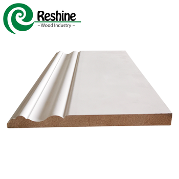 Primed Mdf Skirting Board Architectural Moulding - Buy Architectural  Moulding,Board Architectural Moulding,Mdf Architectural Moulding Product on
