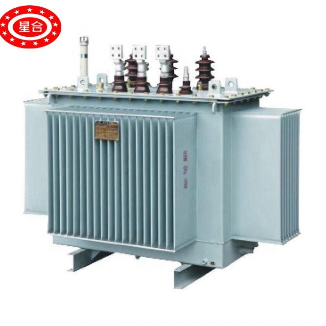 3 Fase 11kv a 400v 100kva transformador de distribución Precio de aceite