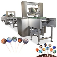 Factory Price Automatic Galaxy Lollipop Candy Making Machine