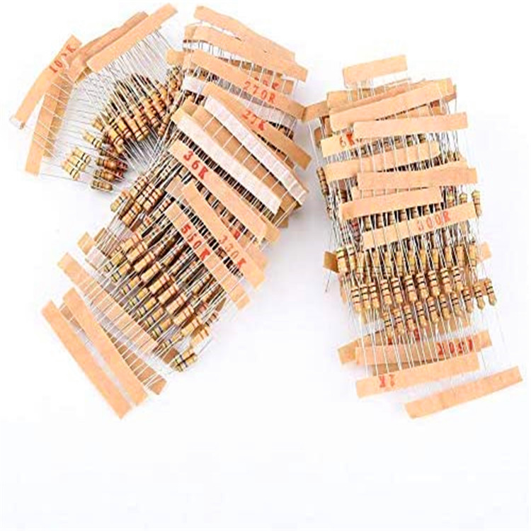 Hanxiang Resistor Film Karbon, Resistor Film Karbon 1/4W 1K 10K 100K