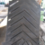 High Quality Rubber Black Cleated Conveyor Belt For Elevator Bucket