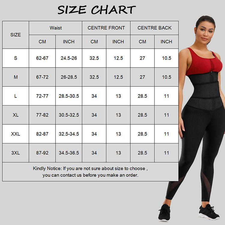Custom Logo Underbust Sport Girdle Women Fitness Corset Waist Trainer Latex Slimming Belt Body Slim Waist Shaper