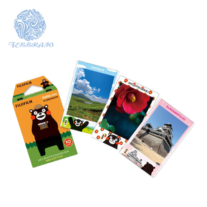 Summer vacation instant film fujifilm orginal 10sheet instax film Kumamon decorative edge mini film