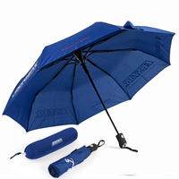 Automatic Men Umbrella Windproof Glasses Case Mini Umbrella