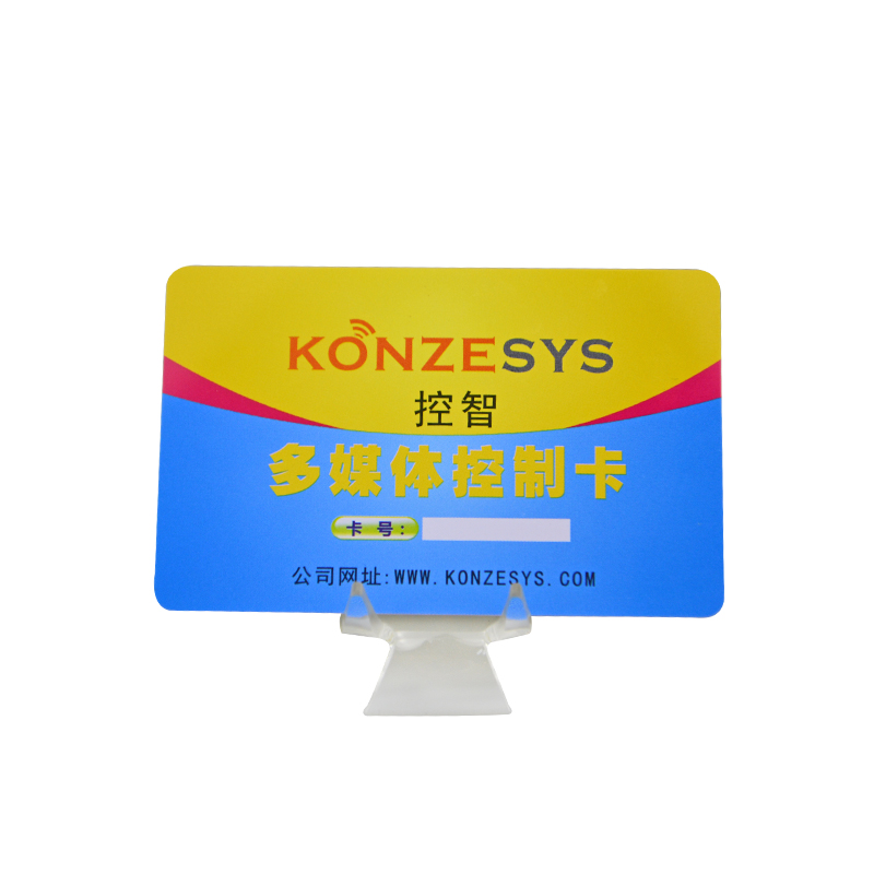 Cmyk Offset Printing Custom Plastic/PVC Black Business Card