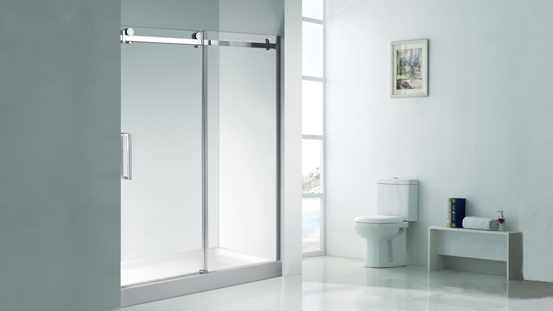 KD5230 stainless steel bypass sliding portable bath shower cabin