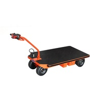 NK-113 electric platform trolley cart hand-held electric flat trolley with Flexible Handle