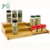 Wholesale High Quality 3-Tier Expandable Bamboo Spice Rack, Step Shelf Cabinet Organizer
