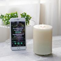 सजावटी चलती लौ शादी मोमबत्तियाँ मोमबत्ती बैटरी संचालित एलईडी रोशनी का नेतृत्व किया