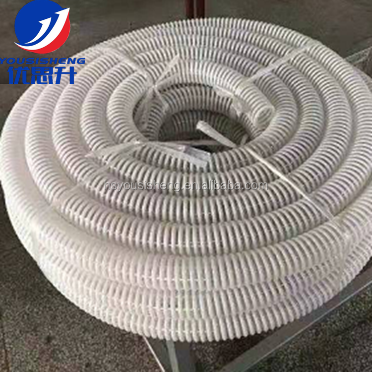 """Air Seeder Hose 2/"""" 51mm x 20m PVC Suction Discharge Spiral Vacuum Water Flexible"""