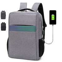Wholesale High Quality Laptop Bag USB Port Custom Backpack Waterproof Bags for Men Business School