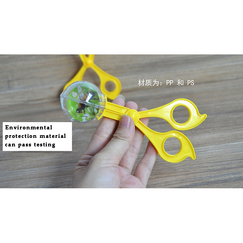 Handy Scoop Bug Catcher Set Bug Tong Insects Catch Clamp Scissors Outdoor Toys for Kids