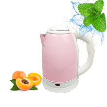Portable Kasar Brushed Pink Stainless Steel Ketel Listrik 220V CB Vde Air <span class=keywords><strong>Boiler</strong></span>