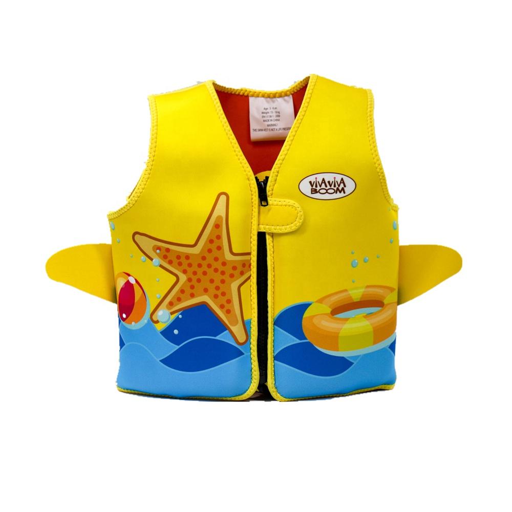 Ready to ship Learn to Swim Kids Neoprene Swim Vest
