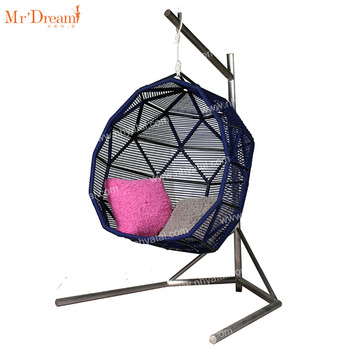 Waterproof high quality modern outdoor patio hanging egg swing chairs(Delivery within 7 days)