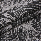 Latest design knitted garment textile jacquard cotton polyester fabric for dress