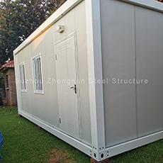 2 história luxo 20ft 40ft container escritório casas pré-fabricadas para venda