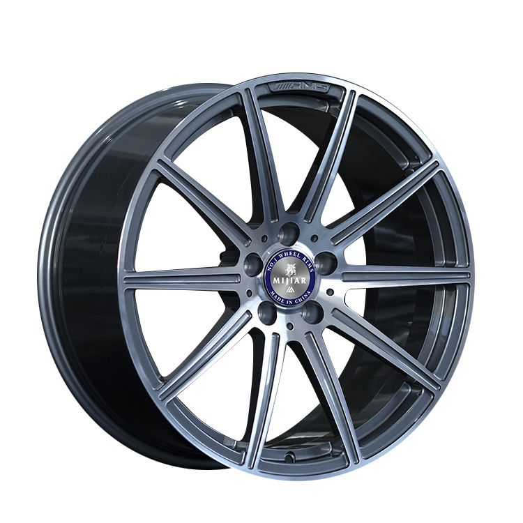 WR282 Custom Forged 19 Inch Alloy 5x112 Aluminum Wheel Car Rims For Benz E Directional Wheels