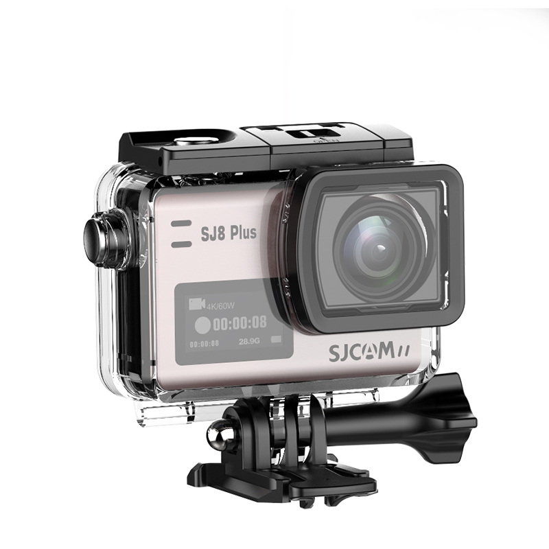 Action and Sports Camera 4K/30fps <strong>Video</strong> 12MP Raw Image with EIS Voice Control Ambarella A9SE Chip 2.19 inch Touch Screen