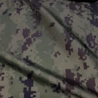 Military Camouflage Printed Nylon Ripstop Fabric Water Repellent Diamond Ripstop Fabric