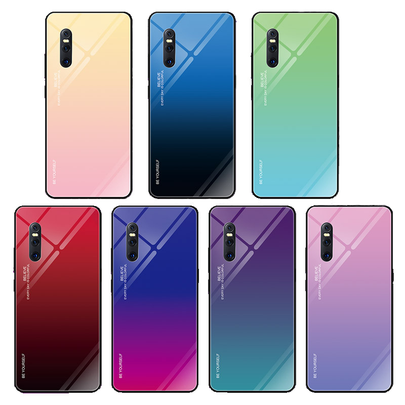 X23 Fingerprint Proof Full Screen Tempered Glass Film LGYD for 25 PCS for Vivo V11 Pro