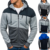 Winter 2019 Fashion Brand Hoodie Men Sweatshirts Casual Patchwork Hip Hop Streetwear Mens Hoodies Sweatshirt Men pullover Hooded