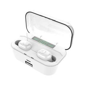 Factory New Tws 5.0 Ear Buds Wireless True Tws Earbuds Music Earphone Wireless Charging Case Earphone Headphones