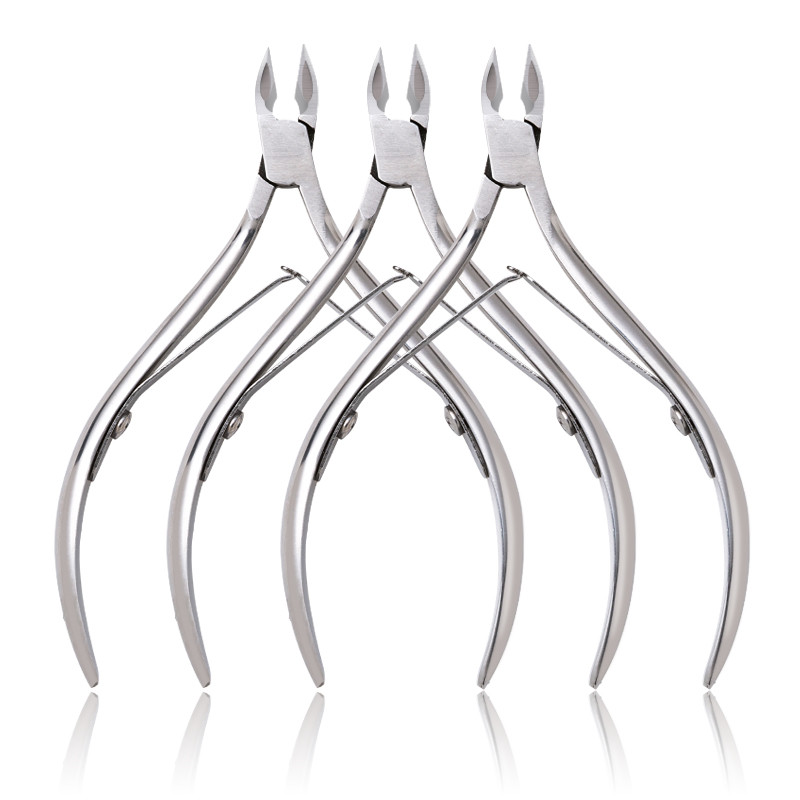 NA068 Nail Cuticle Nipper Nail Dead Skin Remover Manicure Art Tool Stainless Steel Nail Clipper Cuticle Scissors