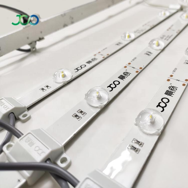 JS SMART LED Manufacturer Outlet  DC 12V Led Rigid Bar Light SMD 2835 Non-waterproof Rigid Light Strip