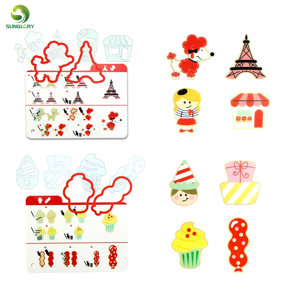 16 Bentuk Mobil Tower Anjing Icecream Cookie Cutter Shifter Set Cookie Stensil Sugarcraft Dekorasi Kue Cutting Cetakan