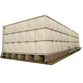 Has extensive applicability and long lifetime FRPGRP SMC water tank