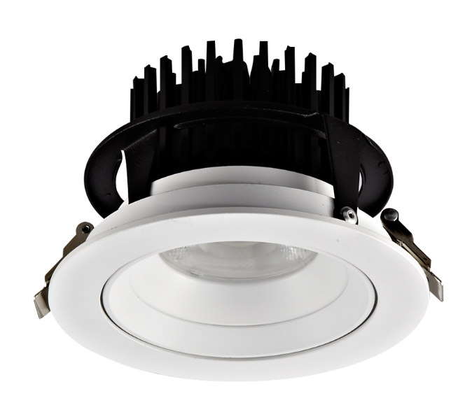 round recessed down light Spot Adjustable Cob CRI95 high lumen 30W LED down light