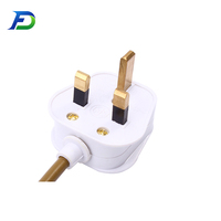 uk bs standard 3 pin plug british power cord with plug