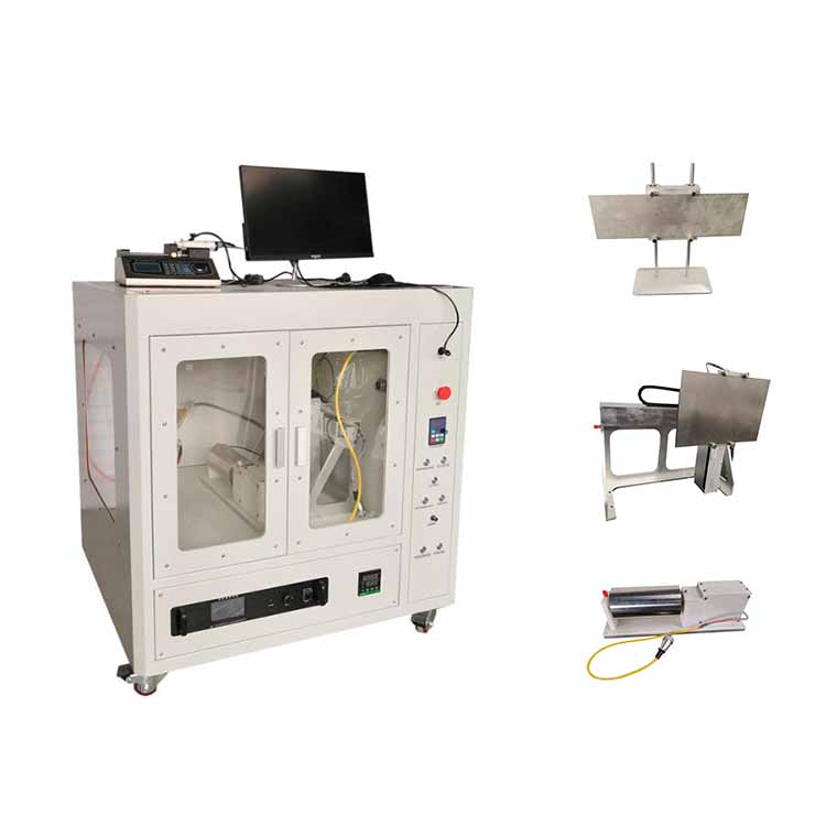 High efficiency electrospinning machine for preparing polymer blend nanofibers