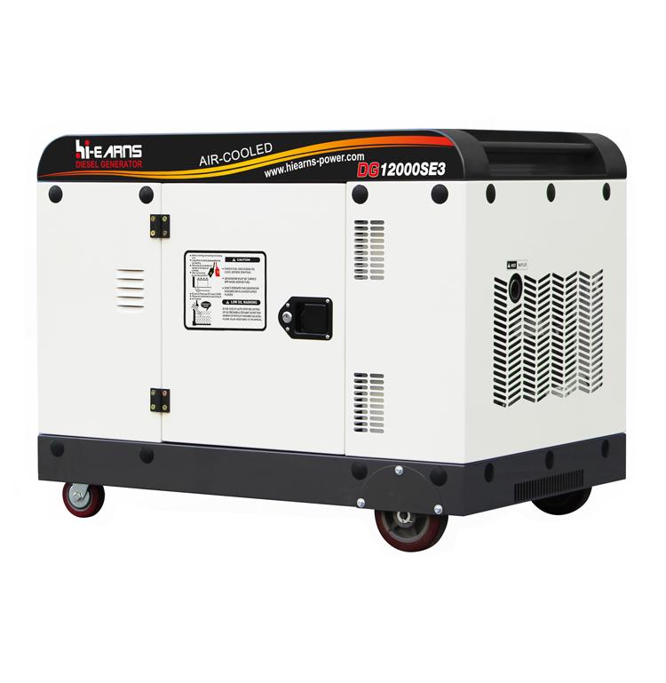 Air-cooled single cylinder 198 diesel engine generator
