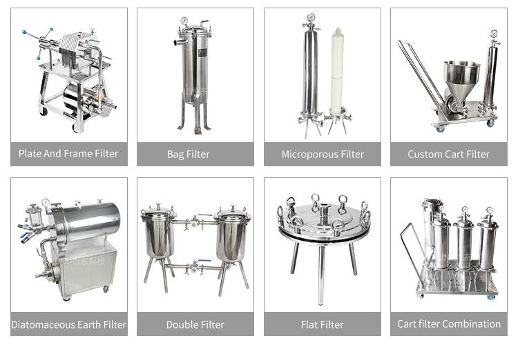 맞춤형 위생 microporous 필터 카트와 펌프 오일