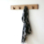 New Design Eco-Friendly Decorate Living room Kitchen Bathroom Wood Wall Rack Hooks