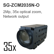 Border control and port security 2Mp 30x zoom starlight Dual lens Bi-spectrum optical and thermal Camera Module