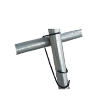 One One Greenhouse Fastening Accessories Galvanized Spring clip Galvanized steel Clip for Greenhouse Pipe Connection