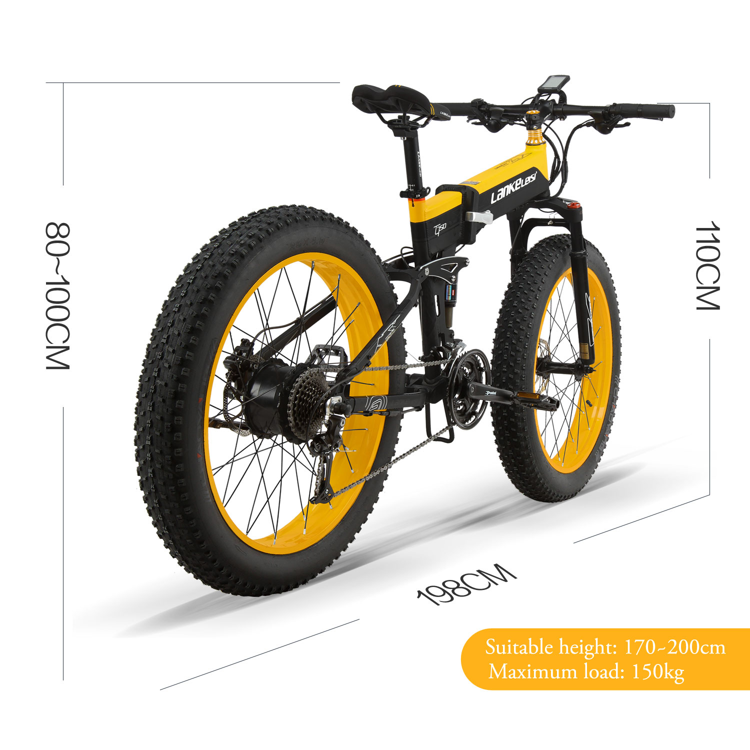 CE Certificate Long cycling rangeFolding Ebike 26inch Fat Tire mountain bike 48V bicycle electric bike 1000w Powerful cheap